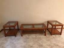Beautiful Solid Oak coffee table and 2 end tables in Pleasant View, Tennessee