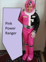 Pink Power Ranger SPD Costume (kid's LARGE) in Travis AFB, California