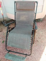 Lounge chair in Fort Carson, Colorado