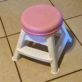 Step2 Pink and White Stool EUC in Vacaville, California