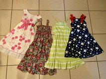 Lot of 8 Pretty Girl Dresses Size 8-10 EUC in Vacaville, California