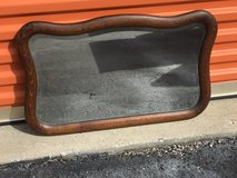 Tiger Oak Beveled Scallop Mirror in Camp Lejeune, North Carolina