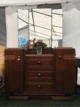 wonderful antique vintage dresser with mirror from France in Ramstein, Germany