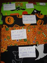 **Halloween & Fall Quilting Fabrics Assorted Sizes!** in Stuttgart, GE