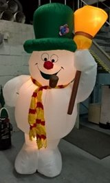 FROSTY THE SNOWMAN 8FT AIR BLOWN INFLATABLE GEMMY 2004 in Ramstein, Germany