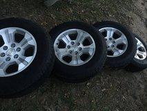 2015/2016 Chevy Wheels and tires 85-90% tread left!!! in Warner Robins, Georgia