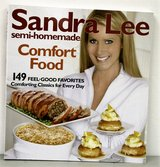 Sandra Lee Semi-Homemade Comfort Food Cookbook in New Lenox, Illinois