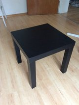 Small black side table in Ramstein, Germany