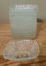 Lot of 13 VTG Crystal Clear Glass Fruit/Dessert Bowls in Fort Leonard Wood, Missouri