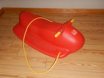 Step 2 Red Large Quality Sled in Great Condition in Buckley AFB, Colorado