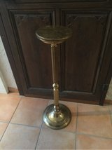 Tall brass plant or candle holder in Spangdahlem, Germany