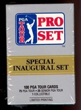 NEW 1990 PGA Tour Pro Set Limited Edition Box Set 100 Trading Cards Inaugural Set in Chicago, Illinois