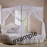 Beautyrest firm king size bed & canopy frame set in Baumholder, GE