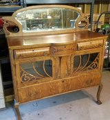 Antique Buffet With Mirror in Tinley Park, Illinois