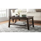 Mainstays Logan Coffee Table, Canyon Walnut in Pearland, Texas