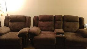 Nice Couch and a rocker recliner in Fort Hood, Texas