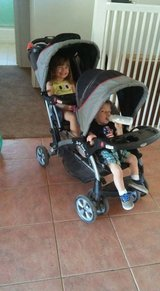 Baby trend sit and stand double stroller in Yucca Valley, California