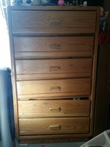 wood chest of drawers in Fort Bragg, North Carolina
