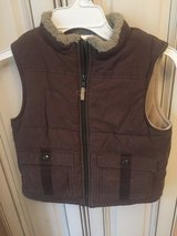 Boys Brown Gymboree Vest in Glendale Heights, Illinois