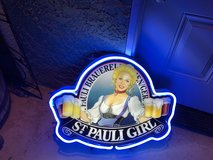Neon Bar Sign-St. Pauli Girl in 29 Palms, California