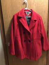 Plus Size Tommy Hilfiger Red Winter Coat in Naperville, Illinois