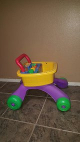 Fisher Price shopping cart in Travis AFB, California
