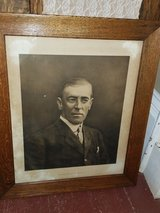 Antique Woodrow Wilson Lithograph in Warner Robins, Georgia
