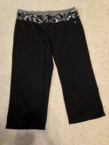 Black stretch capris by Danskin Now - L (12/14) in Naperville, Illinois
