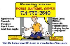 Wholesale Janitorial Supplies & Packaging at Your Doorstep in Huntington Beach, California
