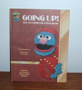 RARE Vintage 1980 Sesame Street Going Up! The Elevator Counting Book in Joliet, Illinois