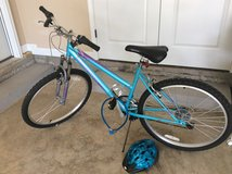 26 inch Roadmaster Women's Bike with lock and helmet.Great Christmas gift for a child! in Fort Knox, Kentucky