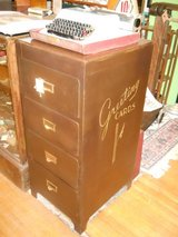 Metal Greeting Card Cabinet in Goldsboro, North Carolina