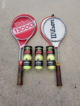 Tennis Racket Bundle in Camp Lejeune, North Carolina