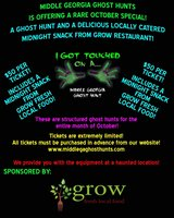Come Get Your SPOOK On! Public Ghost Hunts at a AUTHENTIC Haunted Location! in Warner Robins, Georgia