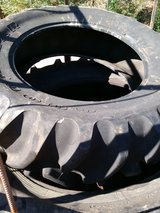 CrossFit work out tires in Fort Rucker, Alabama