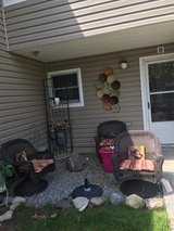 Patio set in Fort Drum, New York