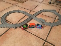 Thomas the Train Metal Cars and Plastic Track in Ramstein, Germany