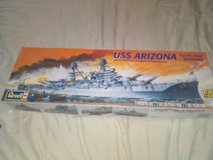 Uss Arizona model in Camp Lejeune, North Carolina