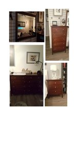 3 piece set Dressers and Mirror in Travis AFB, California