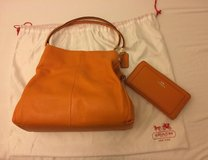 New Coach Maddison Phoebe Bag & Wallet - Orange (worth $800) in Vicenza, Italy