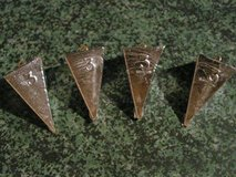 #3 Pyramid Sinkers (4 ea) in Fort Leonard Wood, Missouri