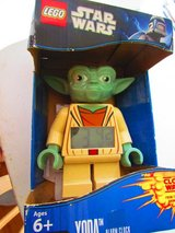 Lego Star Wars Yoda Alarm Clock in Bolingbrook, Illinois