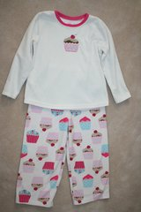 girls microfleece pajamas (cupcakes) in Bolling AFB, DC