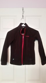 kids black Columbia fleece jacket in Fort Belvoir, Virginia