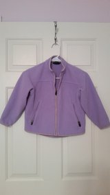kids lavender Lands End fleece jacket in Fort Belvoir, Virginia