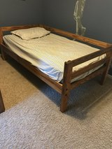 Twin Wood Bed Frame in Sugar Grove, Illinois