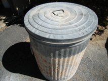 32 Gal Galvanized trash can Heavy Duty in 29 Palms, California