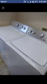 Maytag washing machine and dryer and table set in Fort Benning, Georgia