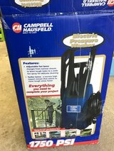 1750 psi electric pressure washer in Tinley Park, Illinois