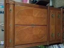 Armoire ..comes with King size bed and nightstand in DeKalb, Illinois